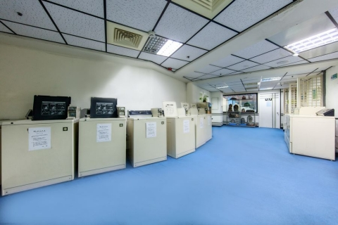 Self-service Laundry Room